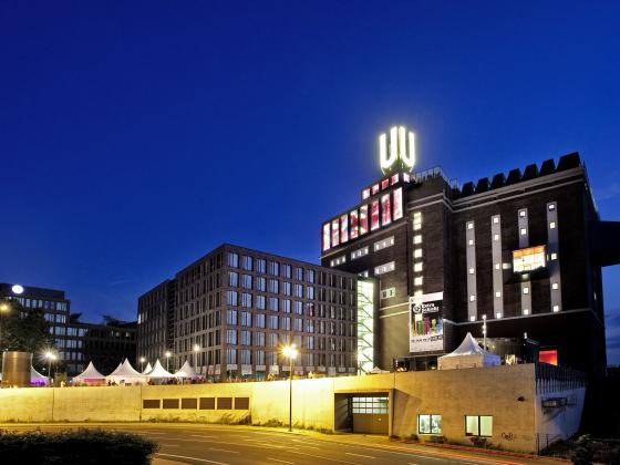 Dortmunder U at Night