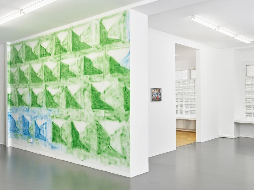 LAURENCE EGLOFF - installation view