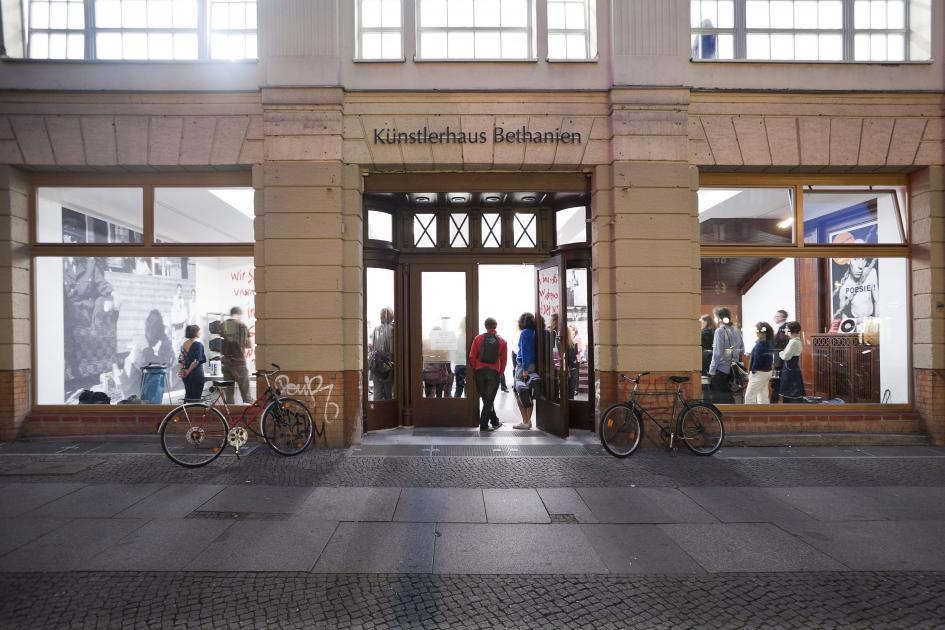 Künstlerhaus Bethanien, gallery spaces at Kottbusser Strasse 10, Berlin-Kreuzberg