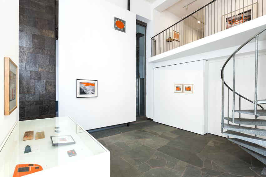 Installation view with works by Pieter Laurens Mol. Foto: Frau Babic