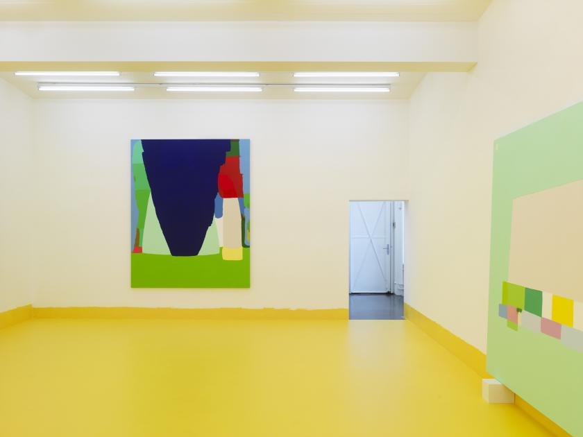 "Installation view ""Language Melody"", solo exhibition by Federico Herrero"