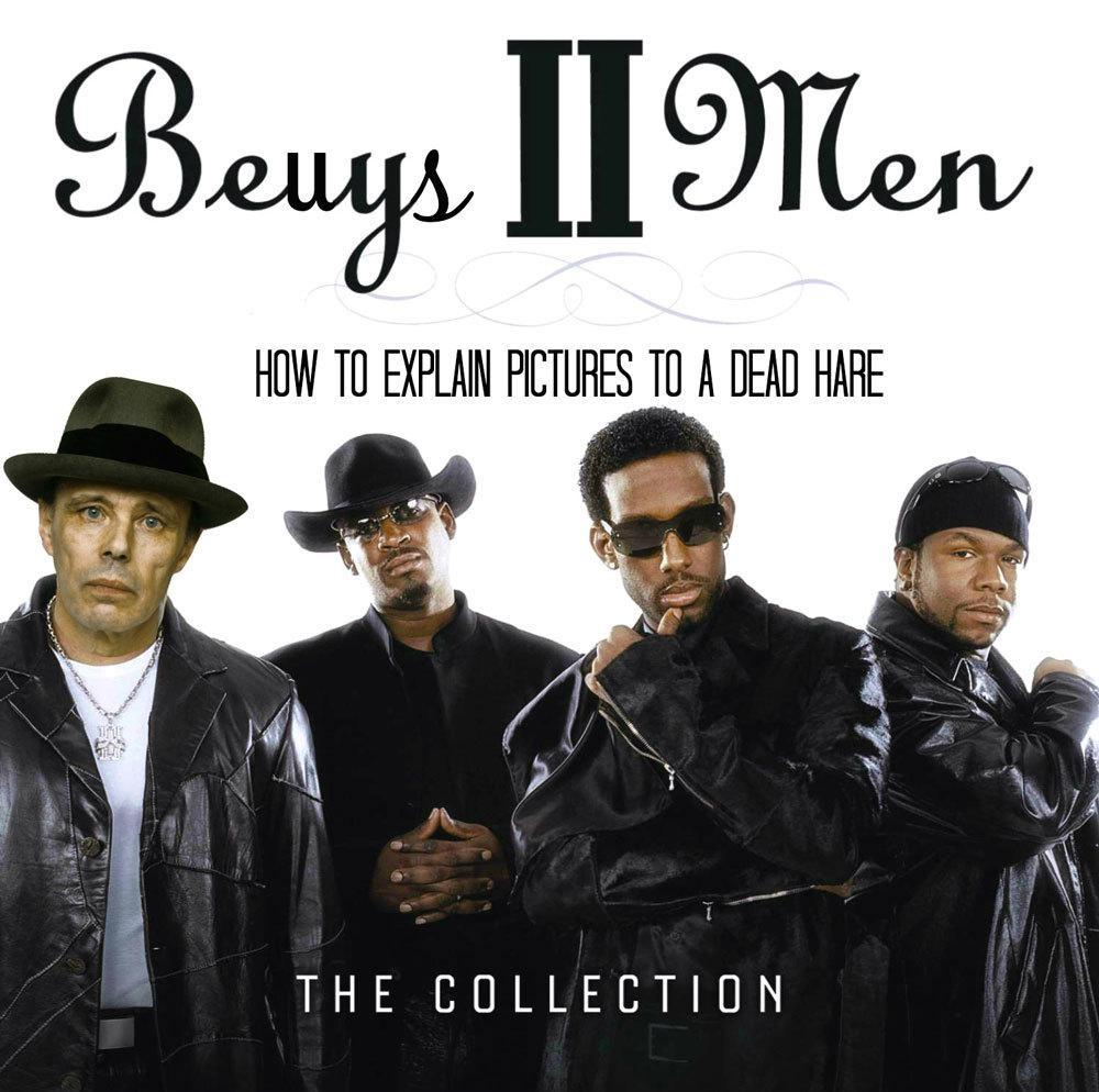 "Violet Ryder ""Beuys II Men: How to Explain Pictures to a Dead Hare"""