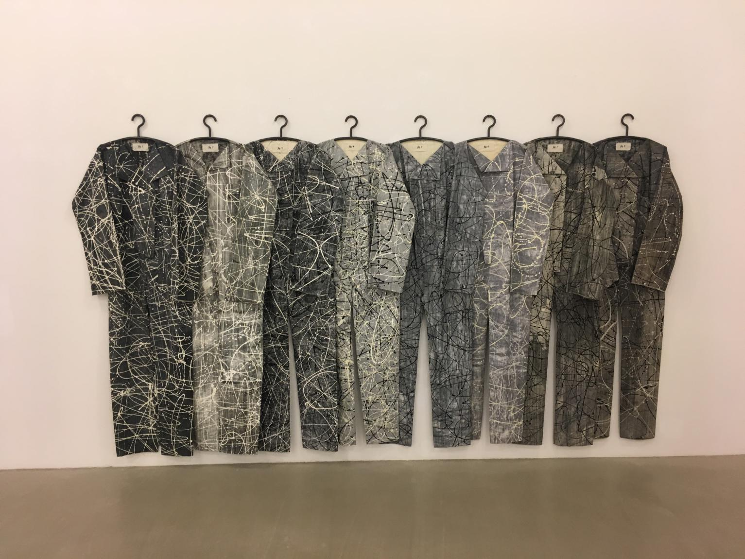 """Spacetime suits for Giacometti"" von Alexandra Hopf"