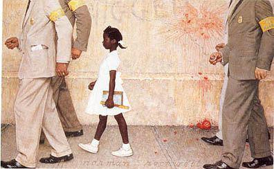 """The Problem We All Live With"" von Norman Rockwell"