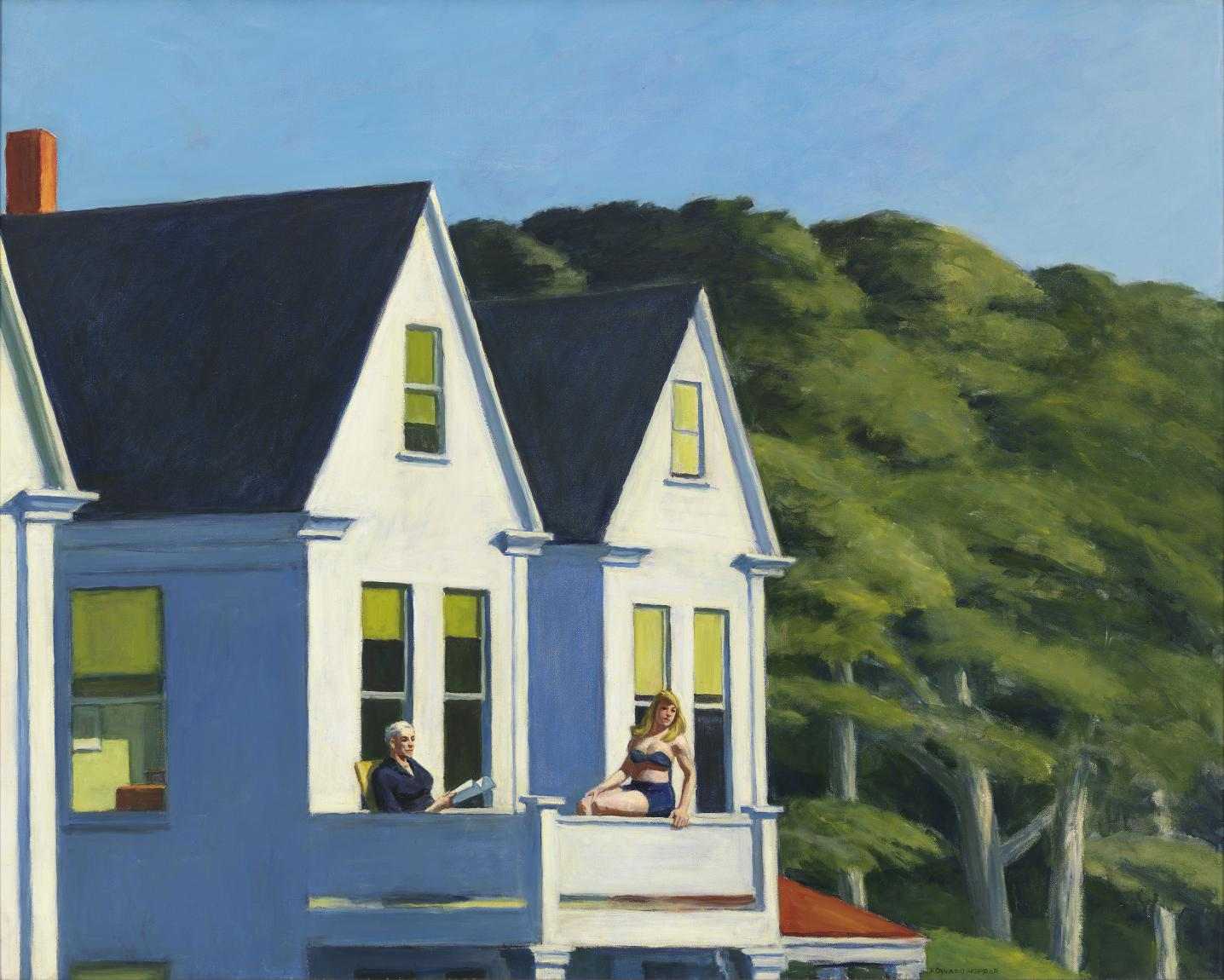 "Edward Hopper ""Second Story Sunlight"", 1960"