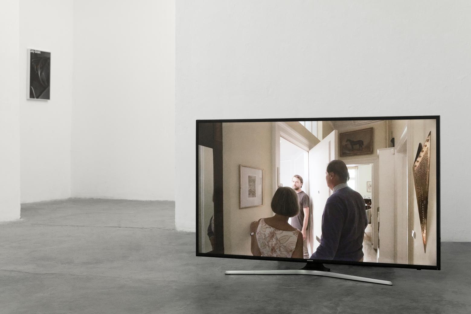 "Moritz Krauth ""Getting Married in the Morning"", Installationsansicht"