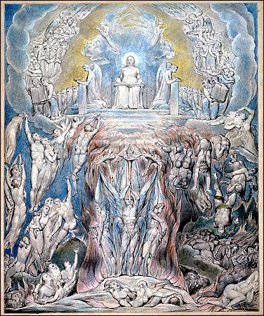 "William Blake ""A Vision of the Last Judgment"", 1805"