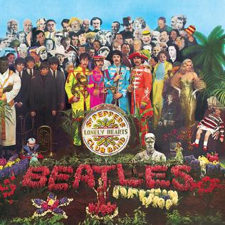 "The Beatles ""Sgt. Pepper's Lonely Hearts Club Band"", Albumcover"