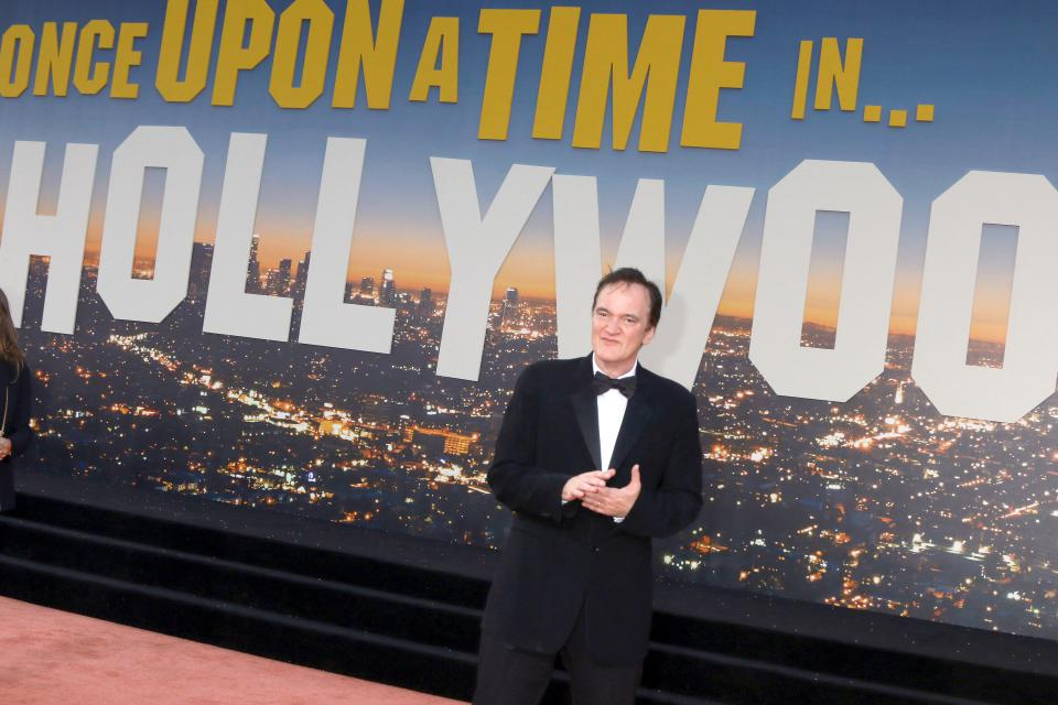 "Quentin Tarantino bei der Premiere seine Films ""'Once Upon a Time in Hollywood'' im TCL Chinese Theater IMAX in Los Angeles"