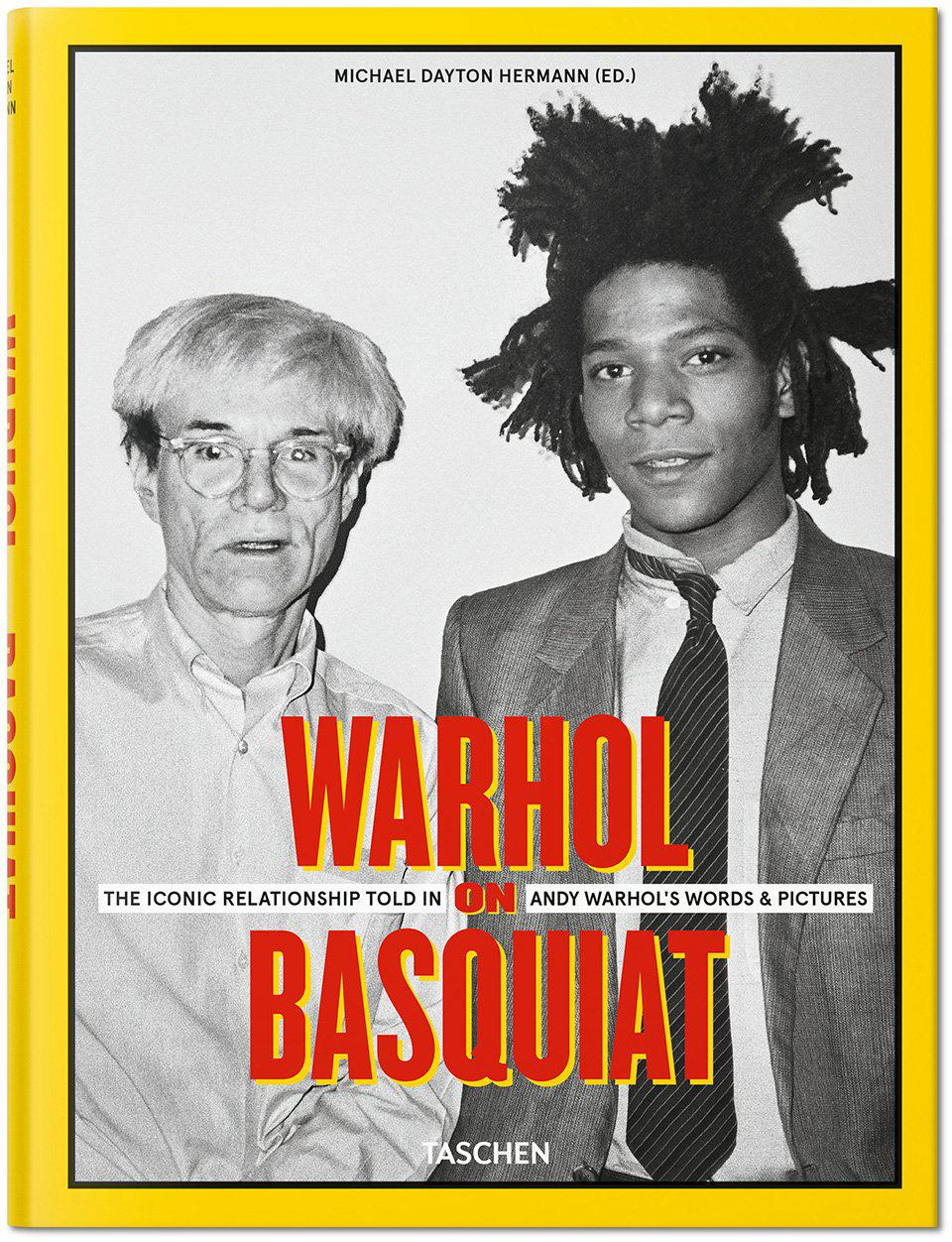 """Warhol on Basquiat. The Iconic Relationship Told in Andy Warhol's Words and Pictures"", Michael Dayton Hermann, The Andy Warhol Foundation for the Visual Arts, auf Englisch, Taschen, 312 Seiten, 50 Euro"