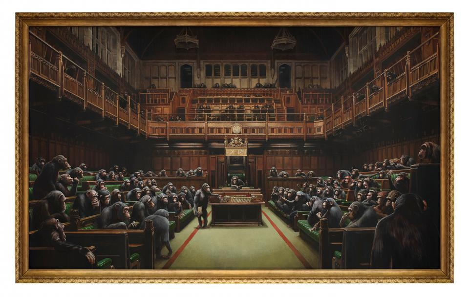 "Banksy ""Devolved Parliament"", 2009"
