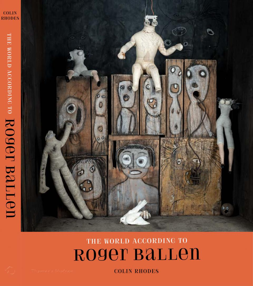 "Cover ""The World According to Roger Ballen"""