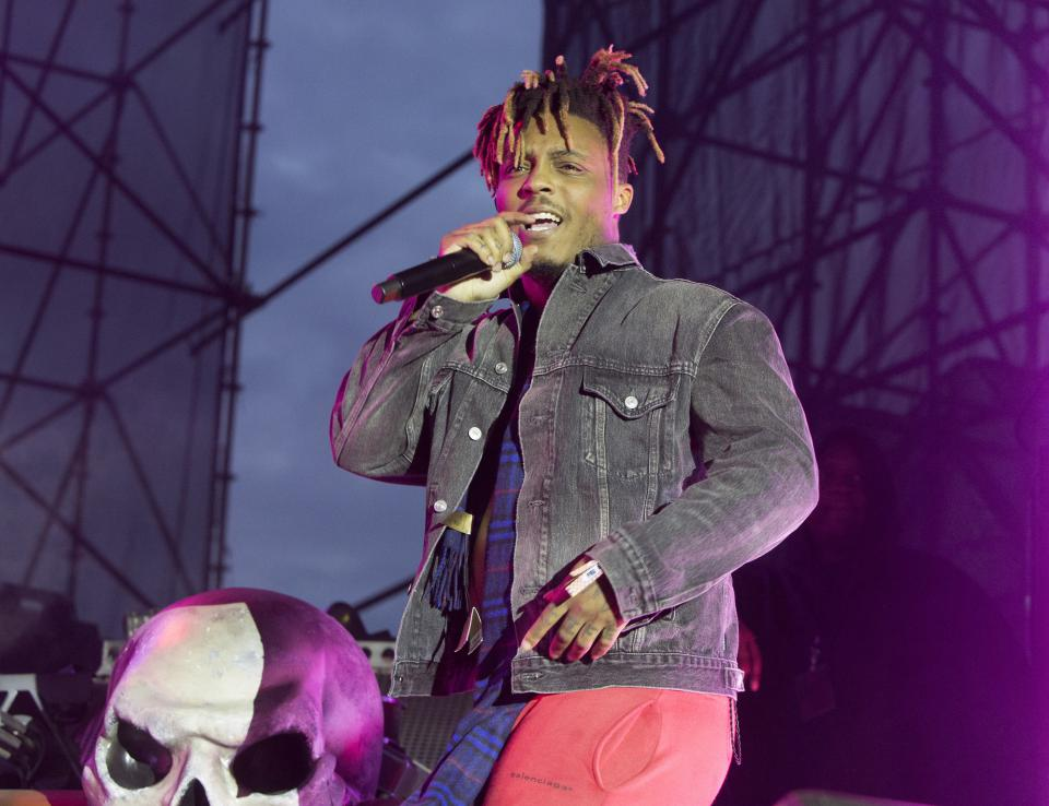 "Juice Wrld während seiner ""Death Race for Love Tour"" in Philadelphia"