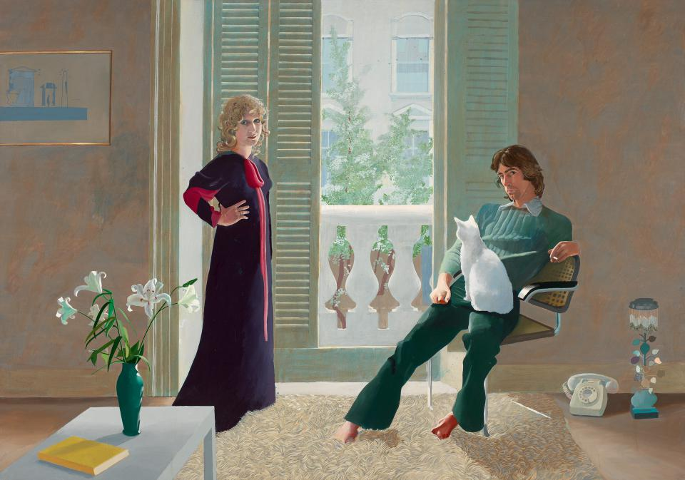 "David Hockney ""Mr and Mrs Clark and Percy"", 1970/71"