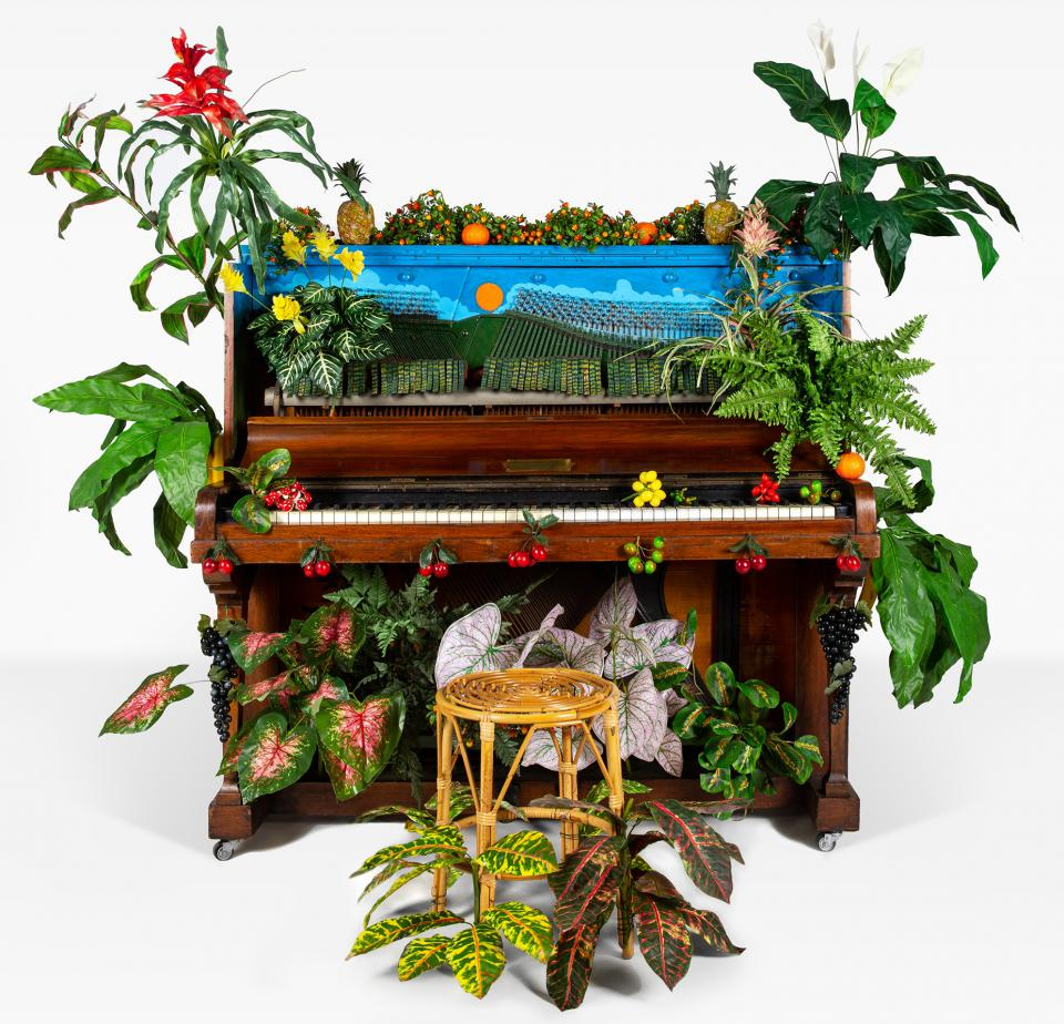 Benjamin Patterson Piano d´oiseux tropical, 1989