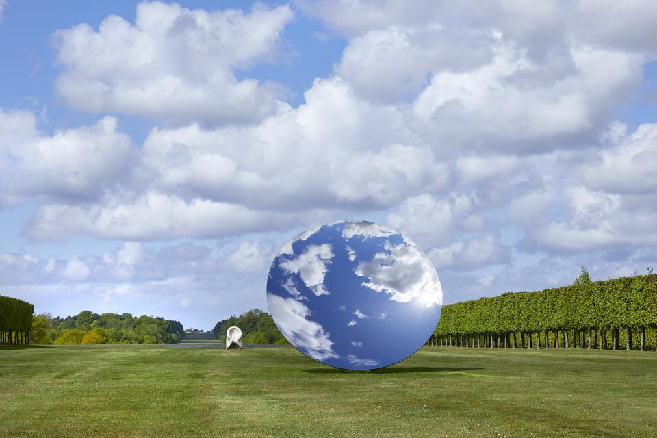 "Anish Kapoor ""Sky Mirror"", 2018"