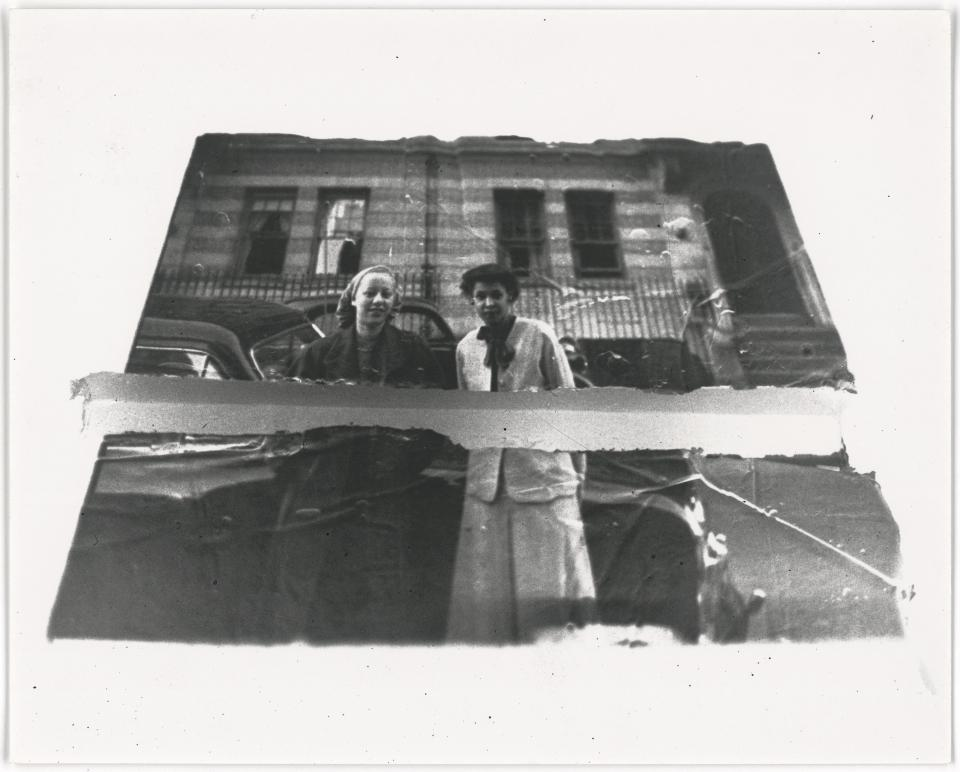 "Darrel Ellis ""Untitled (Women in Front of Car)"", ca. 1989"
