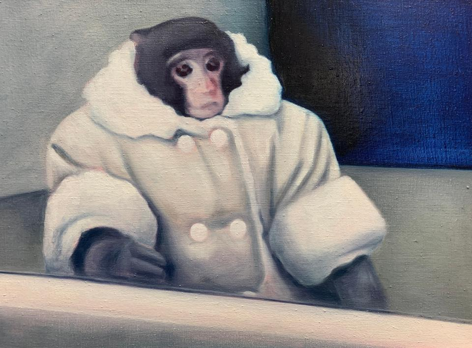 "Lydia Blakeley ""Ikea Monkey"", 2020"