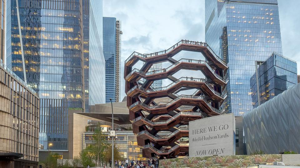 """The Vessel"", Hudson Yards, New York City"