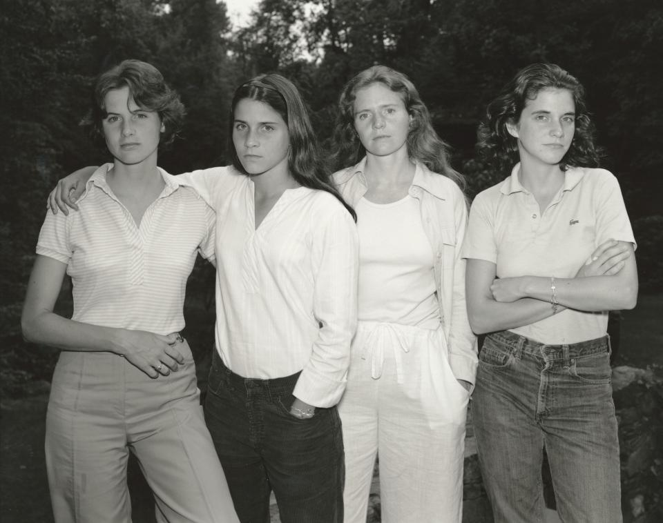 The Brown Sisters, New Canaan, Connecticut, 1975
