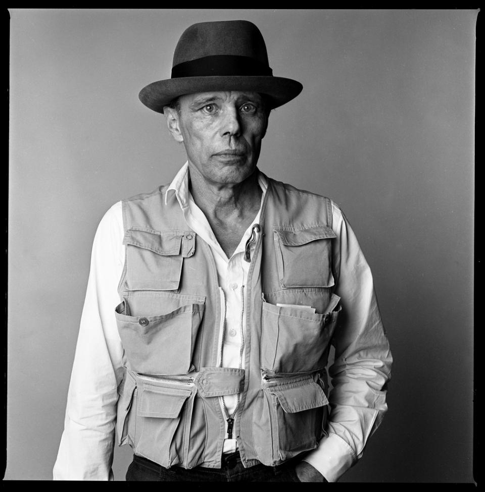 Joseph Beuys (1921-1986), Paris, 1985
