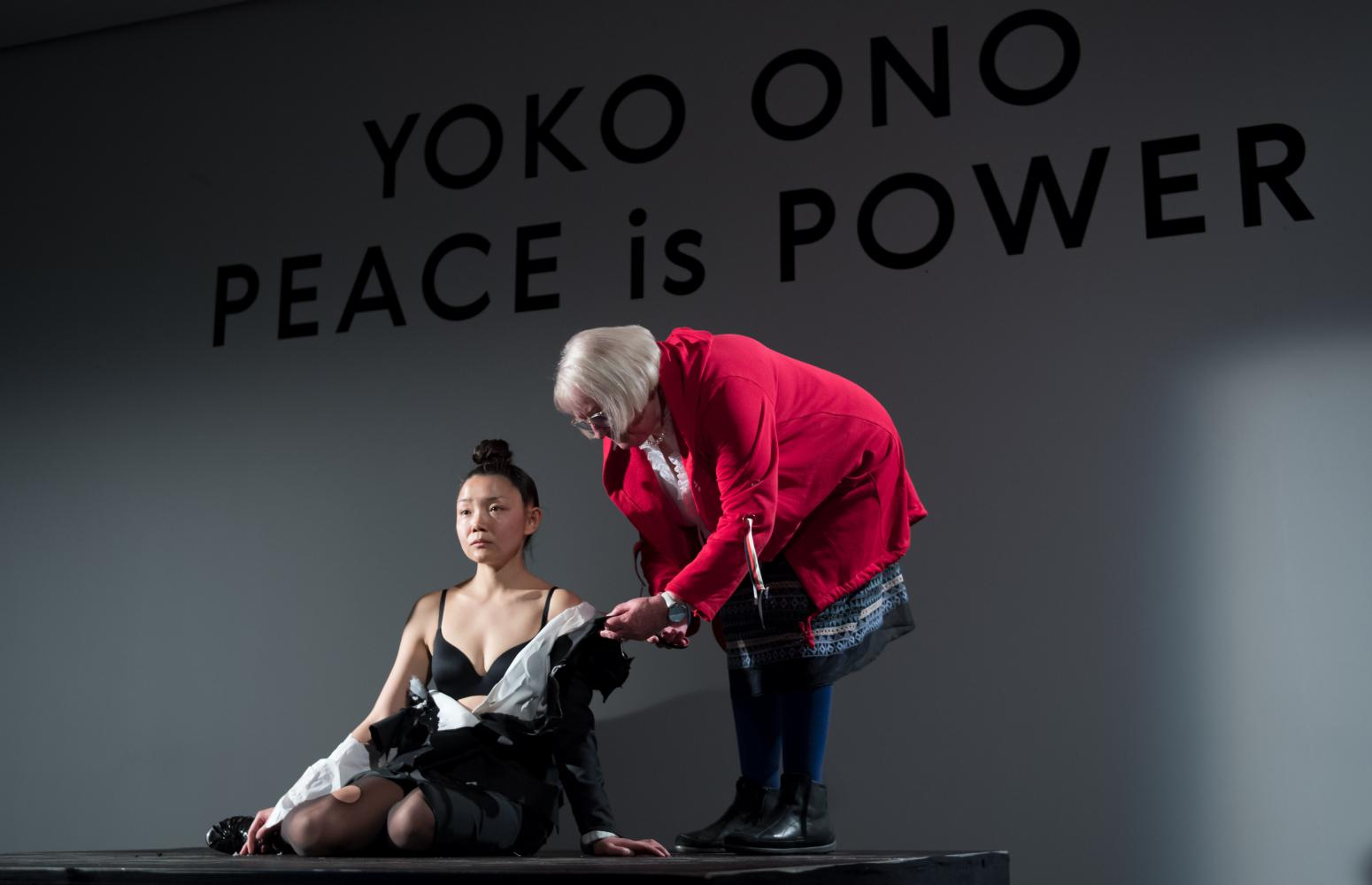 """Yoko Ono – Peace is Power"" im Museum der bildenden Künste in Leipzig"