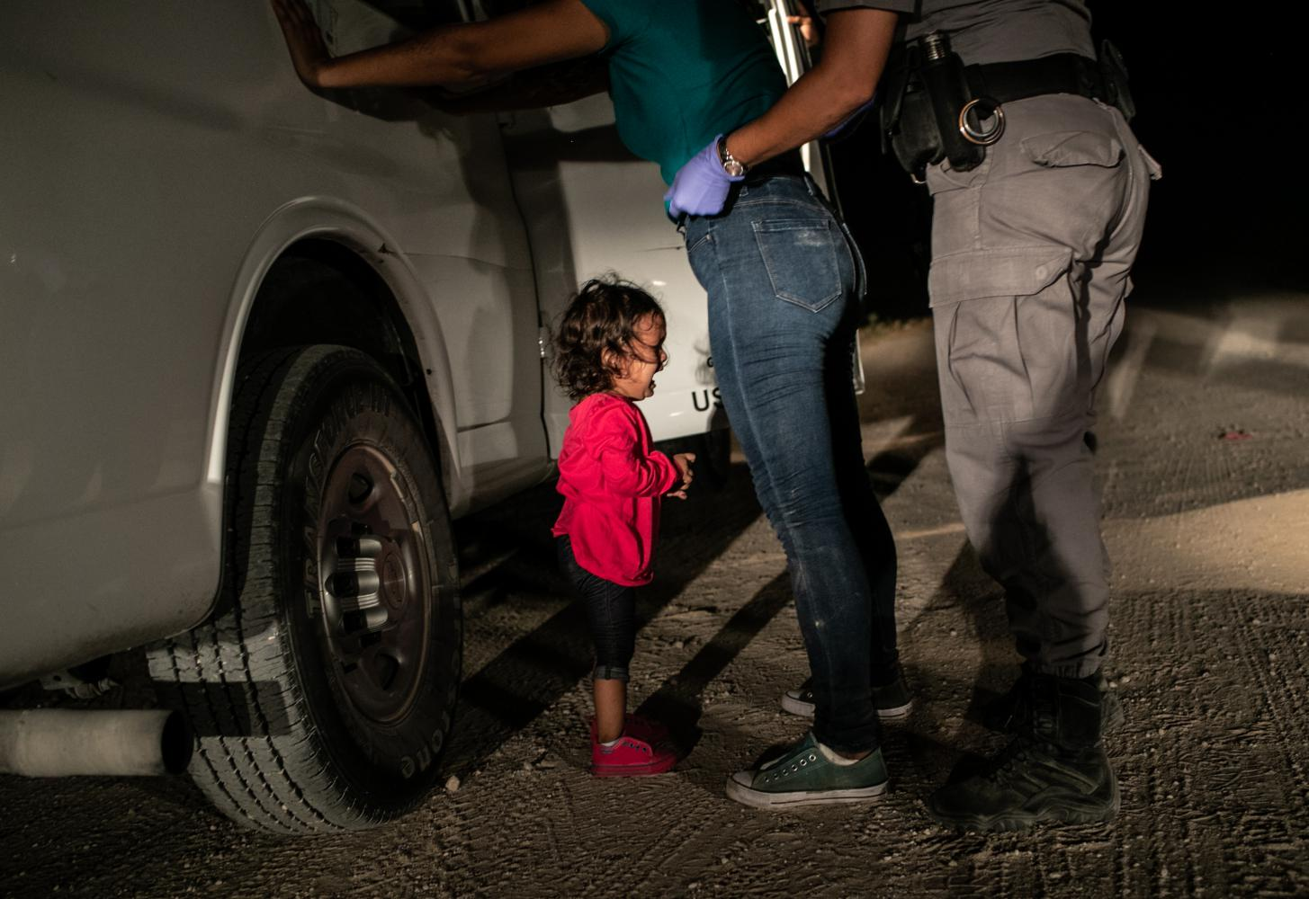 World Press Photo 2019: Crying Girl on the Border