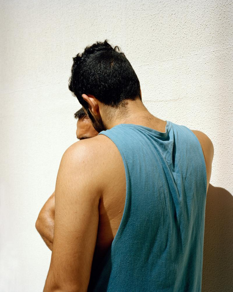 "Foto: Laurence Rasti aus der Serie ""There Are No Homosexuals in Iran"""