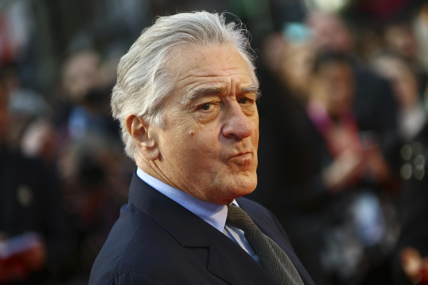 "Robert De Niro auf dem London Film Festival bei der Premiere des Films ""The Irishman"""