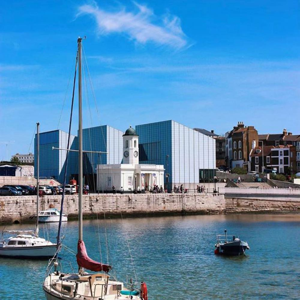 Turner Contemporary in Margate, wo der Turner Prize 2019 verliehen wurde