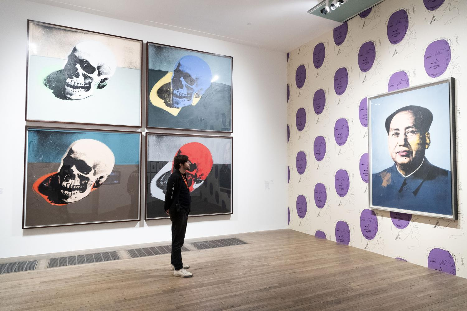 "Installationsansicht ""Andy Warhol"" in der Tate Modern London"