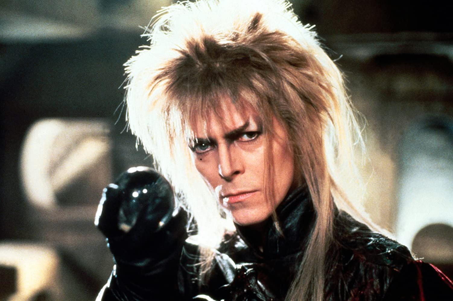 "David Bowie in ""Reise ins Labyrinth"" (1986)"