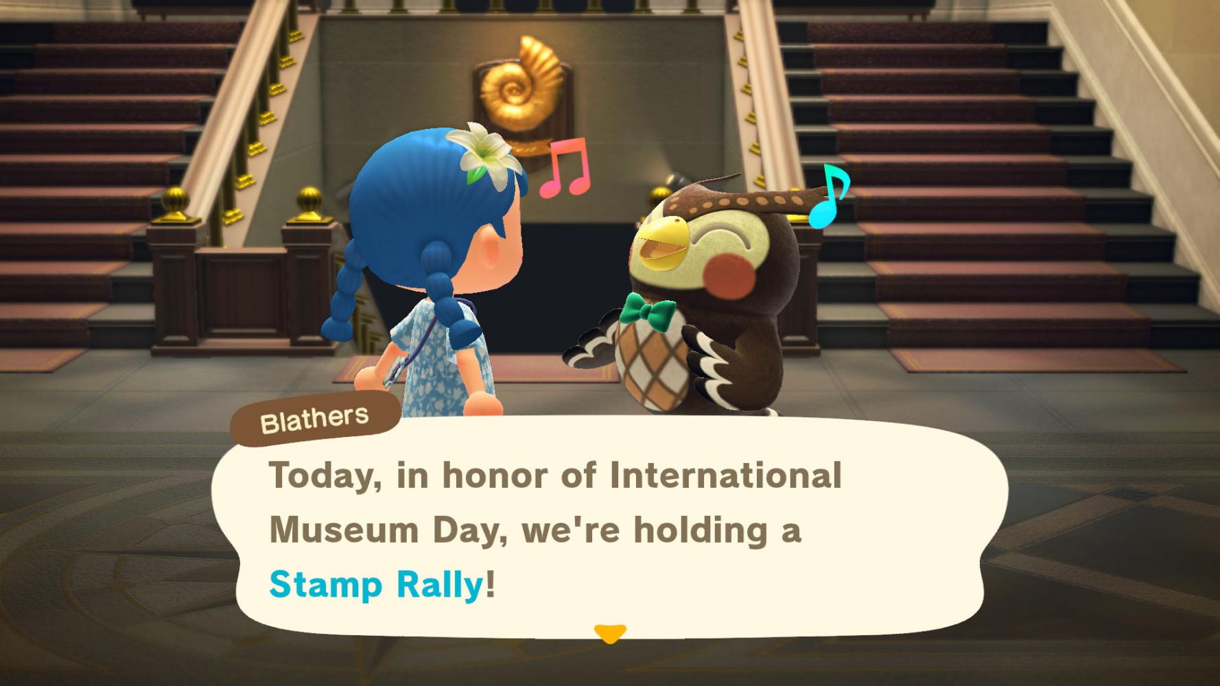 "Screenshot aus ""Animal Crossing"" am Internationalen Museumstag"