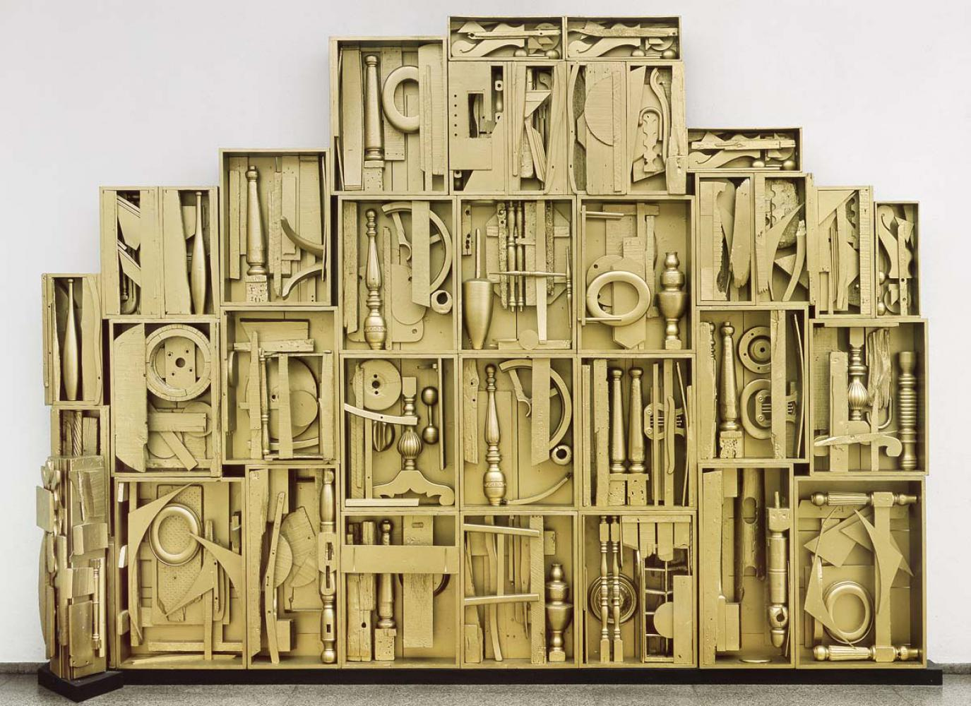 "Louise Nevelson ""Royal Tide IV"", 1959/60"