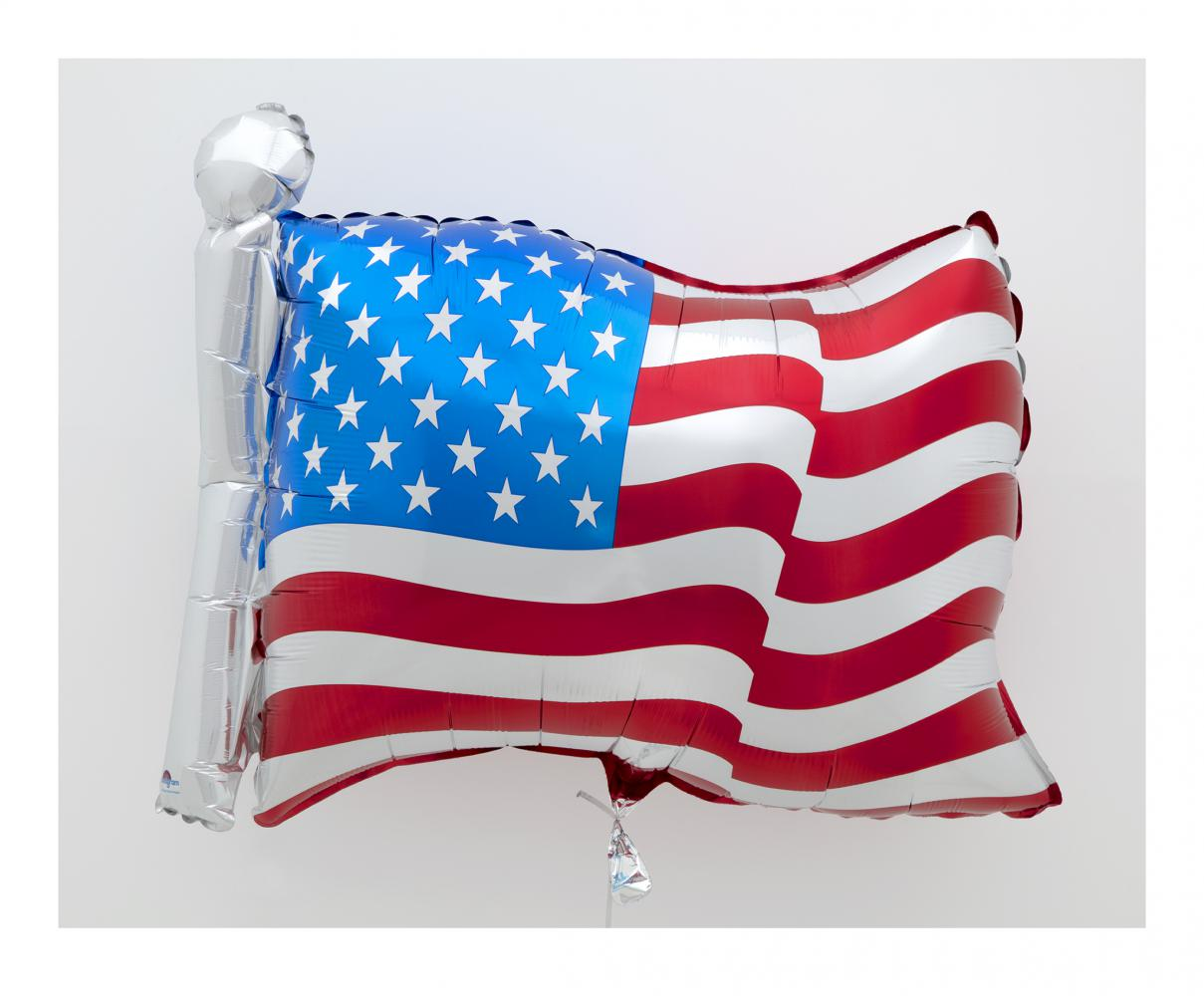 "Jeff Koons ""Flag"", 2020"