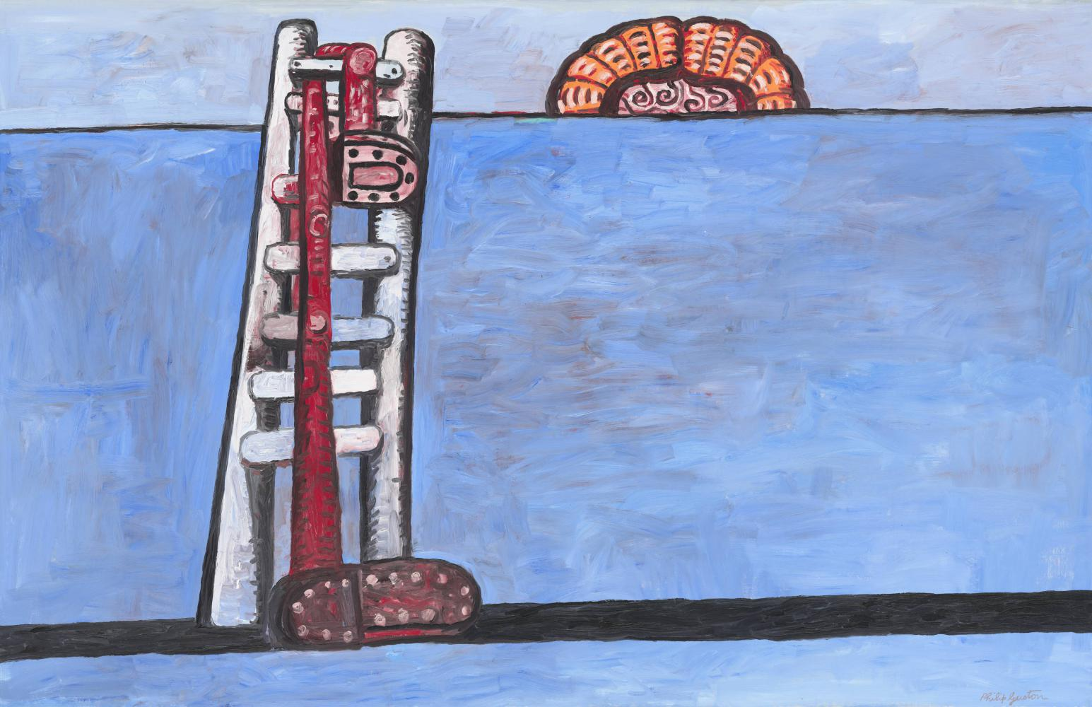 "Philip Guston, ""The Ladder"" (1978), National Gallery of Art"