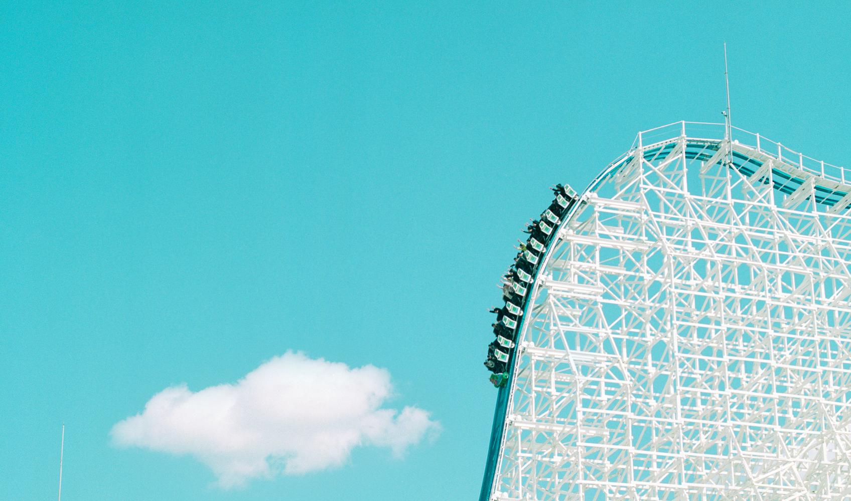 """The White Cyclone at Nagashima Spa Land"", Detail, Kuwana, Japan"