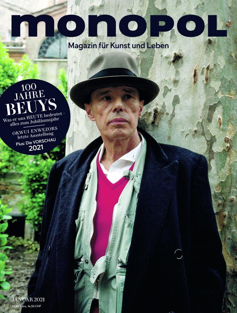 Monopol 01/2021 Cover Beuys