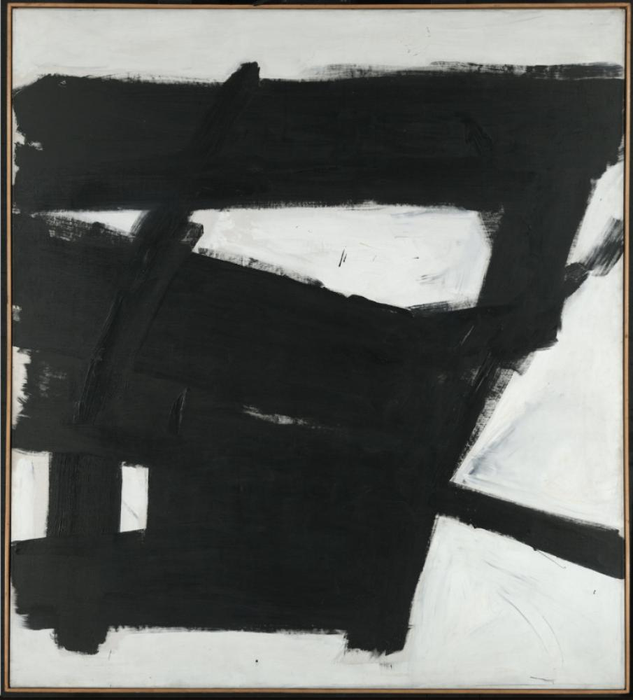 Abbildung: © 2018 The Franz Kline Estate / Artists Rights Society (ARS), New York/Jennifer Gross, Executive Director of Hauser & Wirth Institute Photo: Axel Dupeux