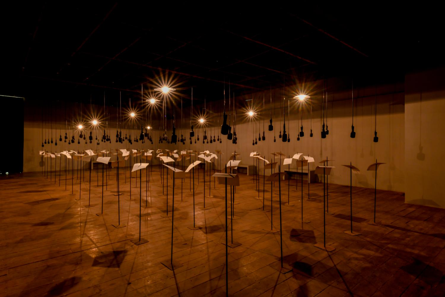 Abbildung: Shilpa Gupta/Courtesy Kochi Biennale Foundation